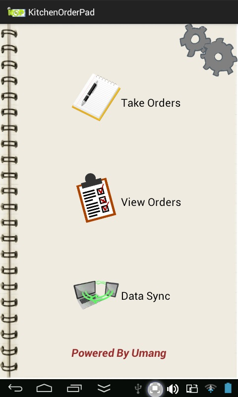 Restaurant Kitchen Order Display kitchen order pad | kitchen ordering system | billing system